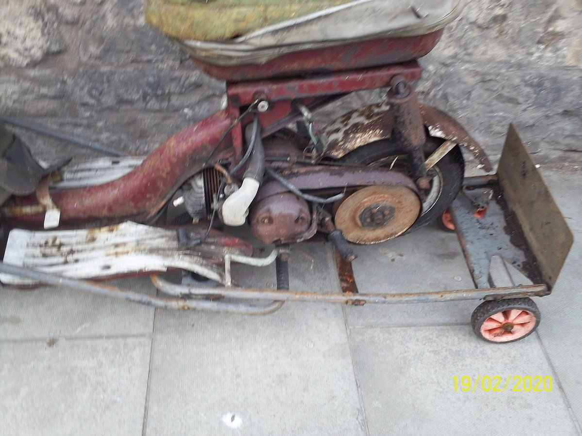 1963 Triumph Tina Scooter Barn Find Project SOLD (picture 3 of 6)