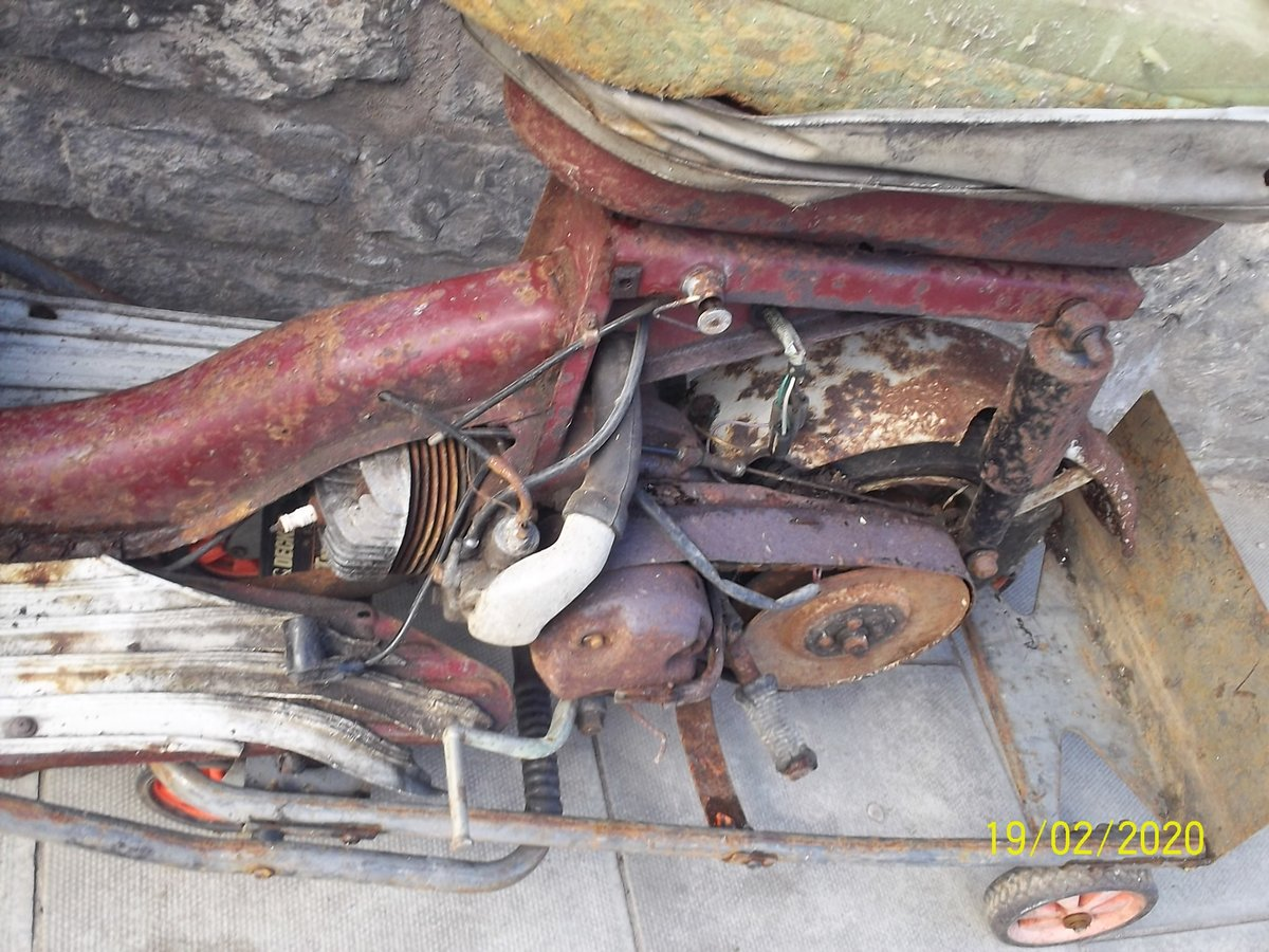 1963 Triumph Tina Scooter Barn Find Project SOLD (picture 6 of 6)