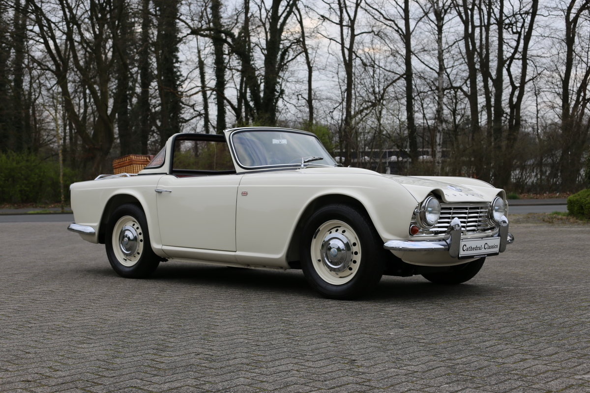 1963 An uncompromising frame off TR4 restoration with Surrey Top SOLD (picture 1 of 6)