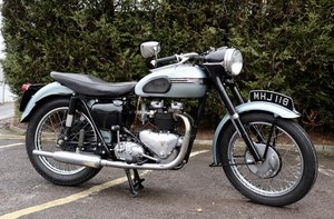 1956 Triumph T110 650cc Pre-Unit! Delivery Available.