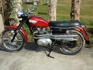Triumph 3TA 350cc 1967 Matching Frame & Engine Nos