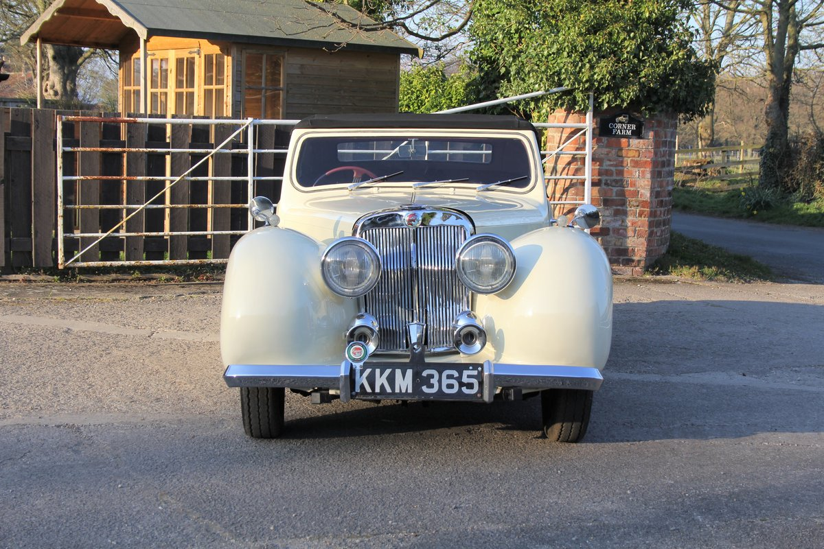 1948 Triumph Roadster, 2.0 Engine, 4 Speed, 16k Spent For Sale (picture 2 of 16)