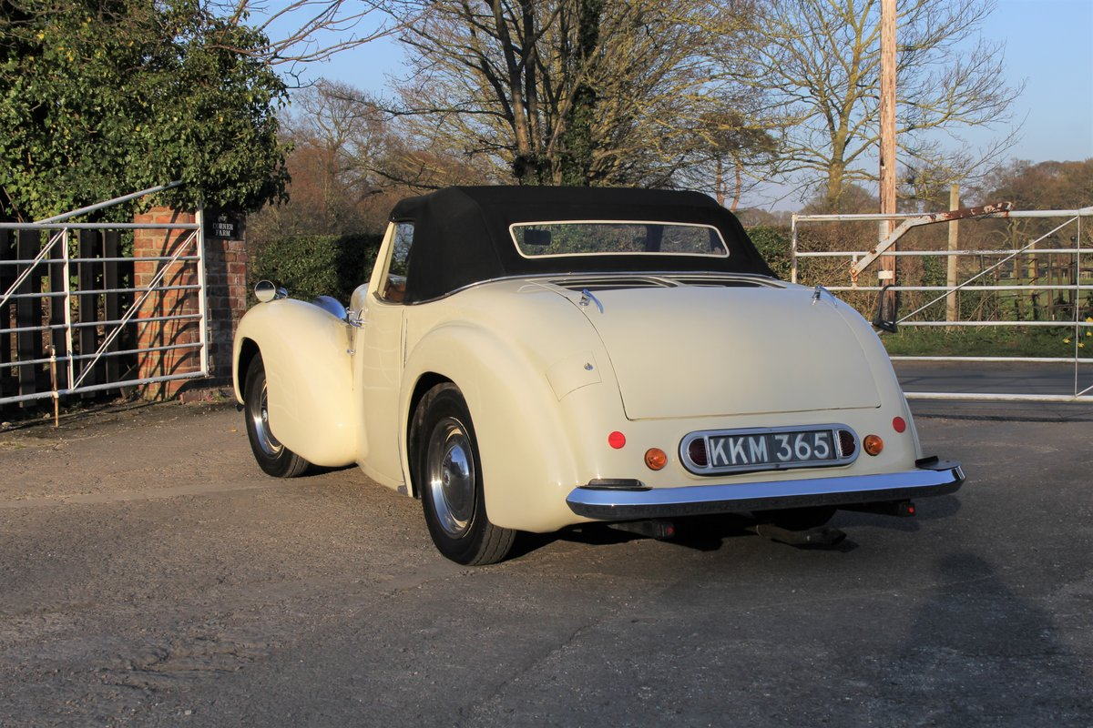 1948 Triumph Roadster, 2.0 Engine, 4 Speed, 16k Spent For Sale (picture 4 of 16)