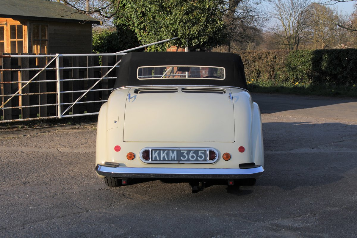1948 Triumph Roadster, 2.0 Engine, 4 Speed, 16k Spent For Sale (picture 5 of 16)