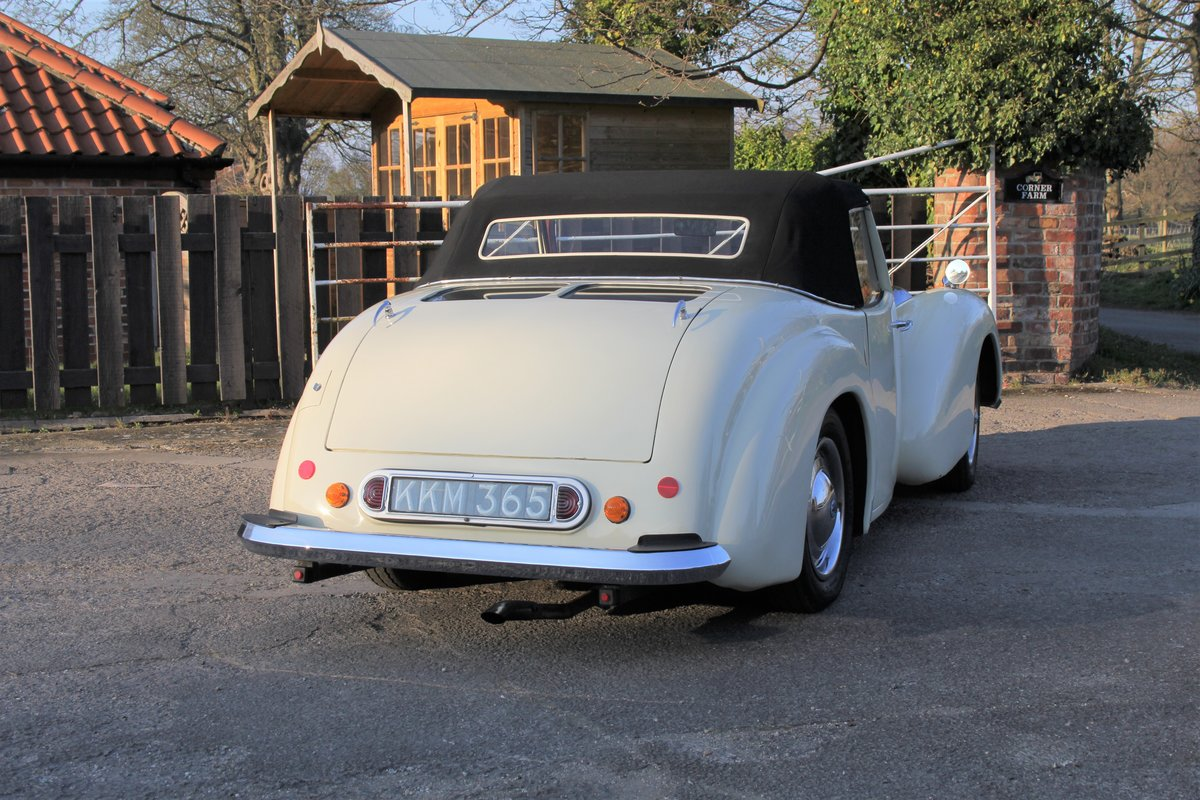 1948 Triumph Roadster, 2.0 Engine, 4 Speed, 16k Spent For Sale (picture 6 of 16)