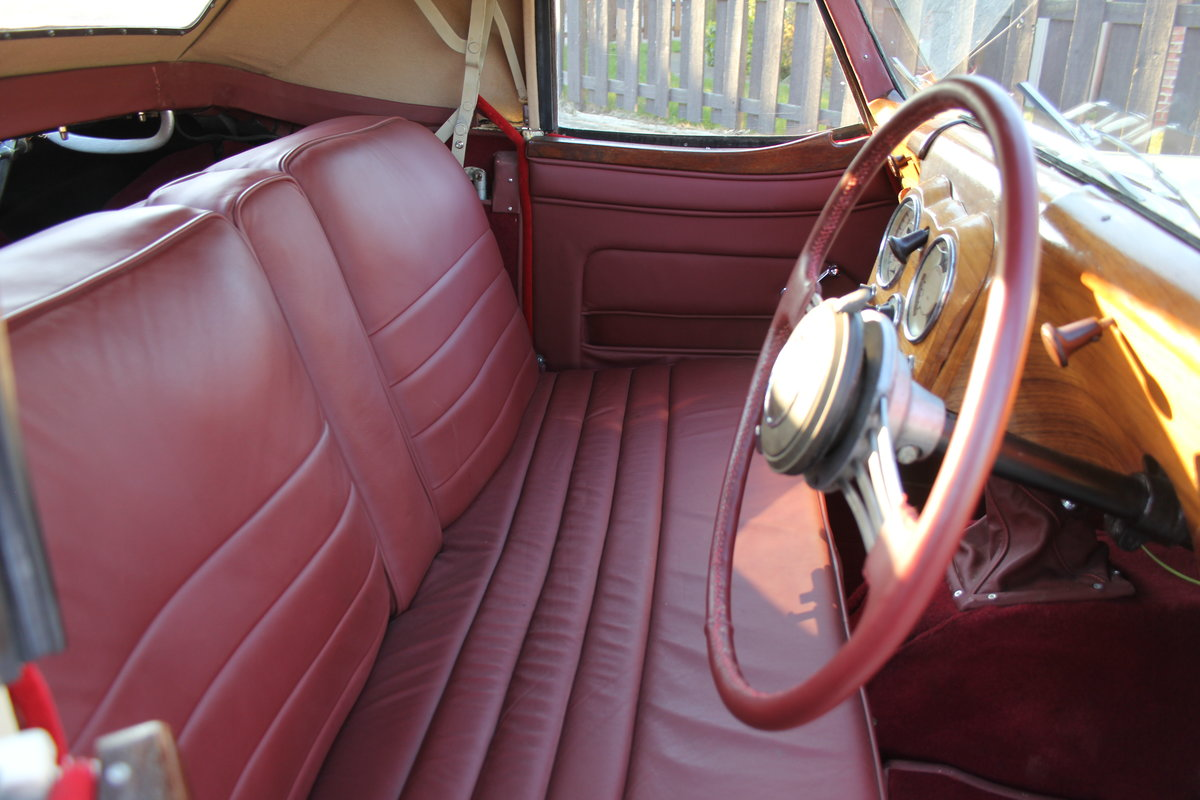 1948 Triumph Roadster, 2.0 Engine, 4 Speed, 16k Spent For Sale (picture 8 of 16)