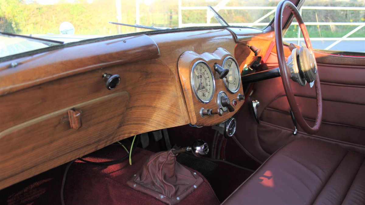 1948 Triumph Roadster, 2.0 Engine, 4 Speed, 16k Spent For Sale (picture 10 of 16)