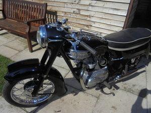 1961 triumph 350cc 3ta bathtub very nice
