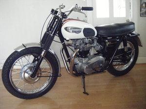 1966 Triumph t120 tt bonneville matching numbers