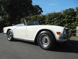 1974 Triumph TR6 MANUAL WITH OVERDRIVE