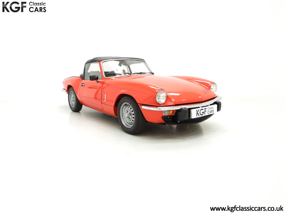 1979 An Astonishing Triumph Spitfire 1500 with 11,403 Miles SOLD (picture 1 of 24)