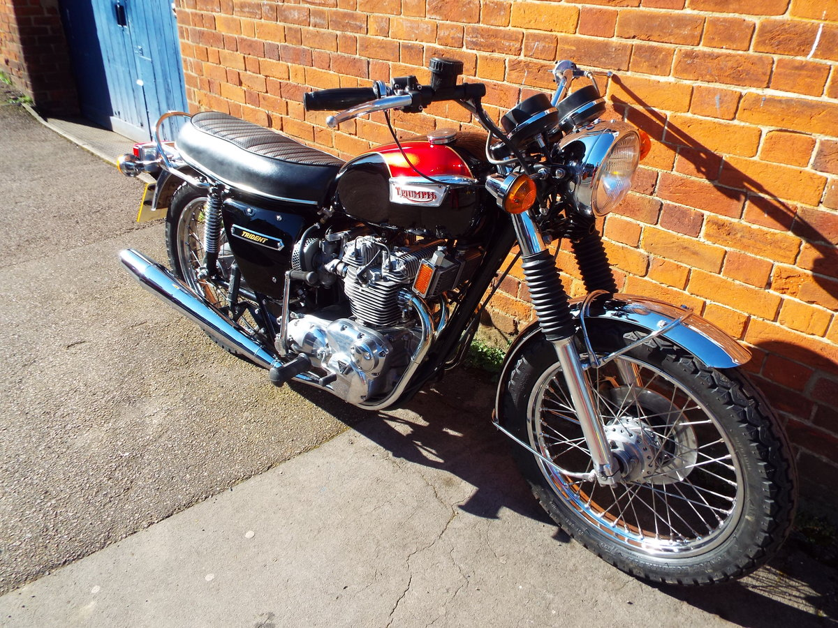 1973 Triumph Trident T150v For Sale (picture 4 of 6)