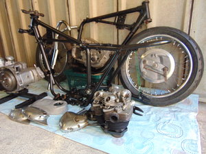 1970 triumph t120 project