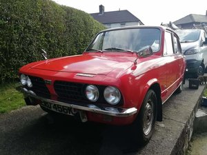 Triumph Dolomite 1850 with overdrive.