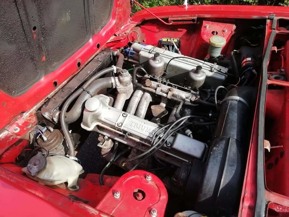 1972 Triumph Dolomite 1850 with overdrive. For Sale (picture 2 of 6)
