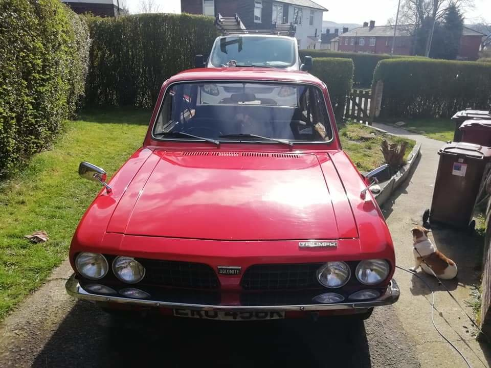 1972 Triumph Dolomite 1850 with overdrive. For Sale (picture 3 of 6)