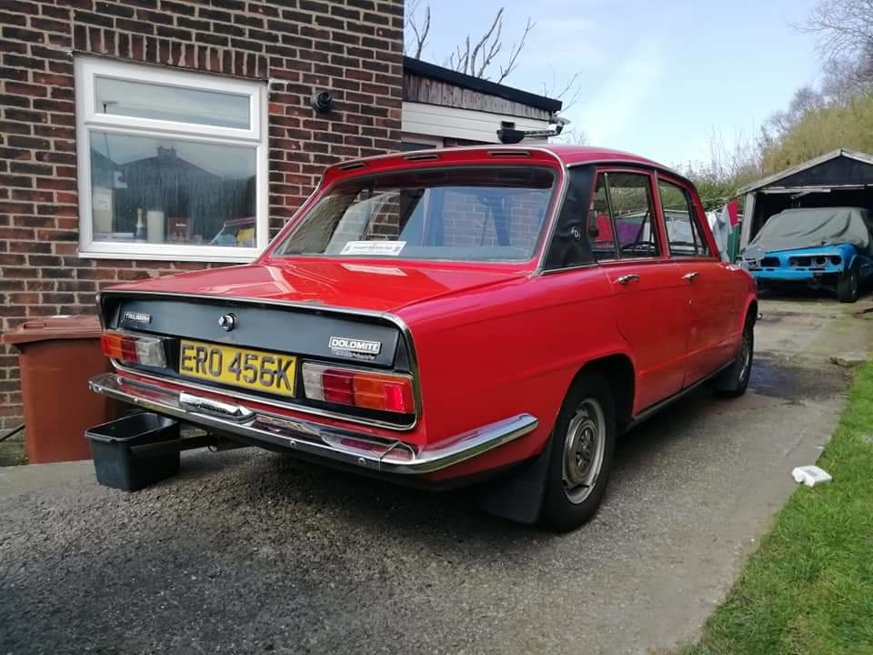 1972 Triumph Dolomite 1850 with overdrive. For Sale (picture 4 of 6)