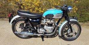 1959 Triumph T120 Bonneville 06/05/20 SOLD by Auction