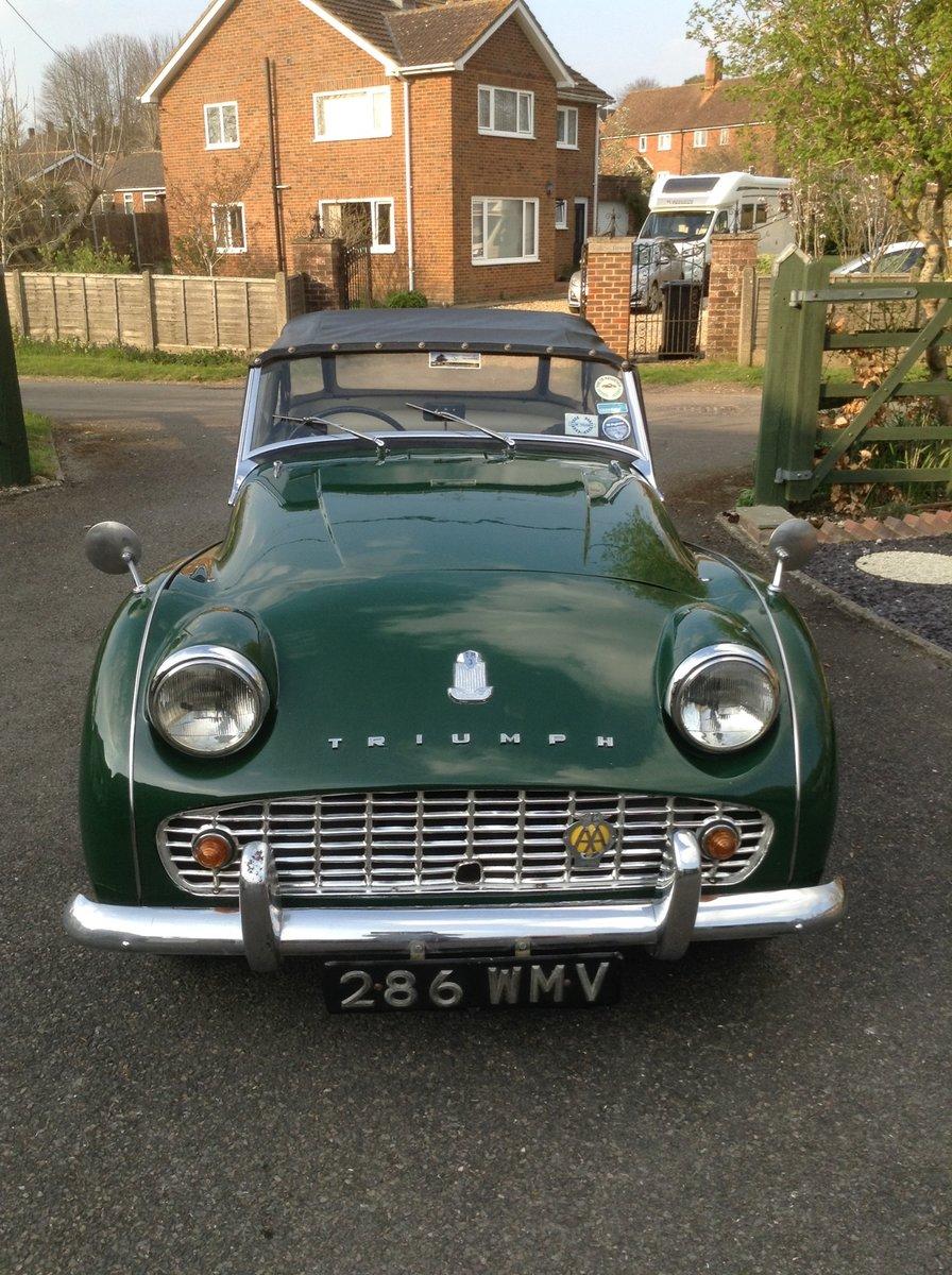 1959 Triumph TR3A For Sale (picture 3 of 6)