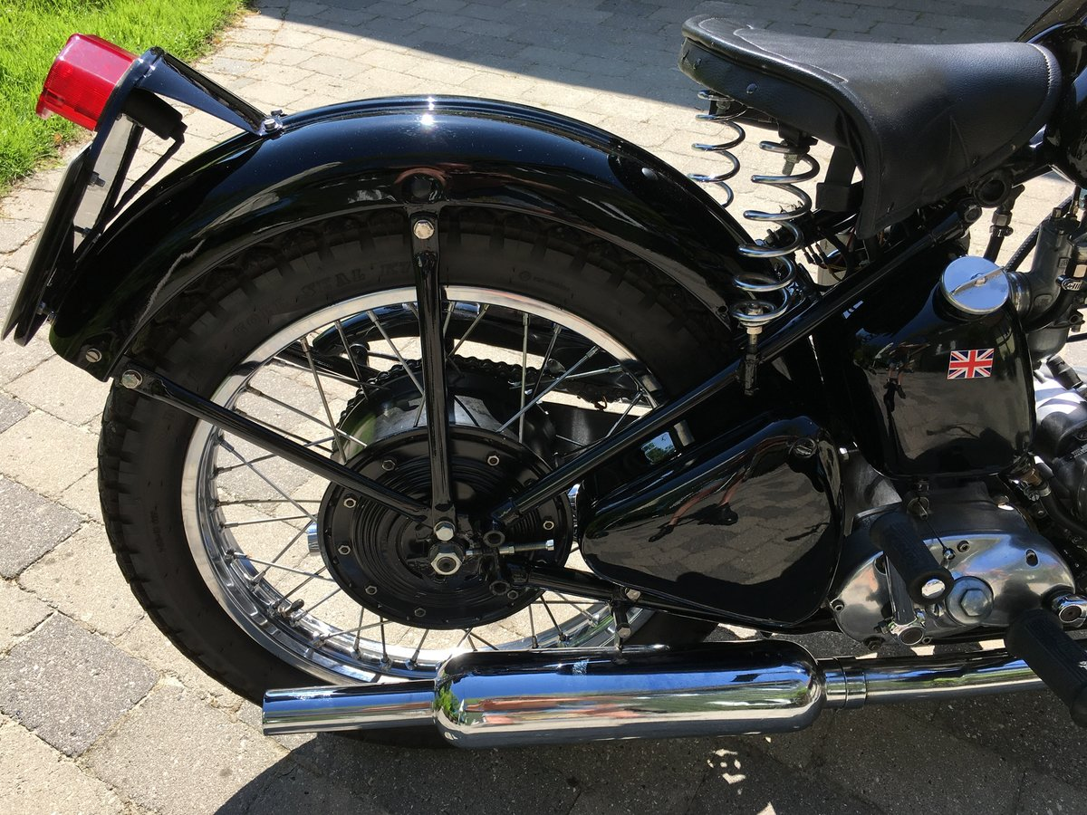 1953 Restored Tiger 100 with rigid frame For Sale (picture 6 of 6)