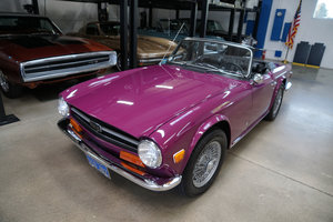 Orig California owner 1973 Triumph TR6 with 33K orig miles SOLD