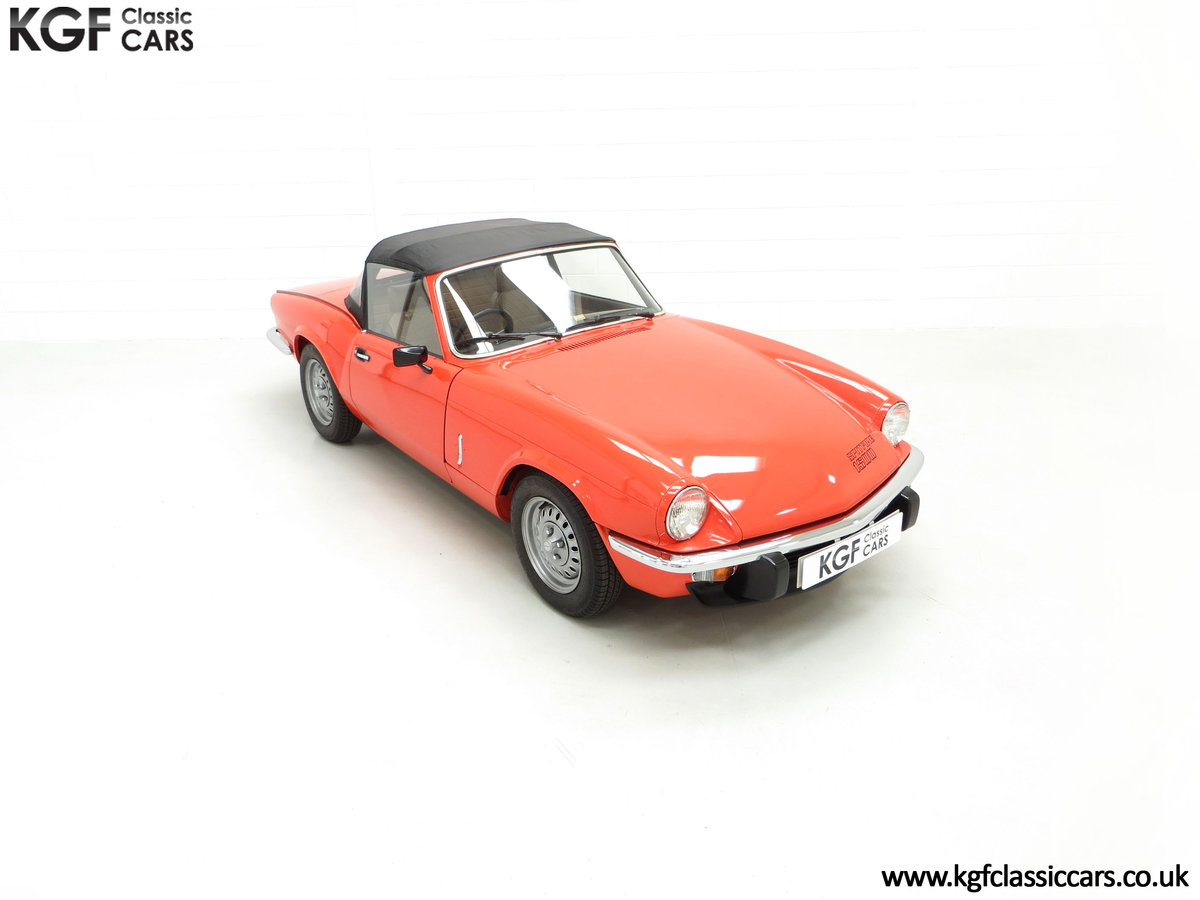 1979 An Astonishing Triumph Spitfire 1500 with 11,403 Miles SOLD (picture 2 of 24)