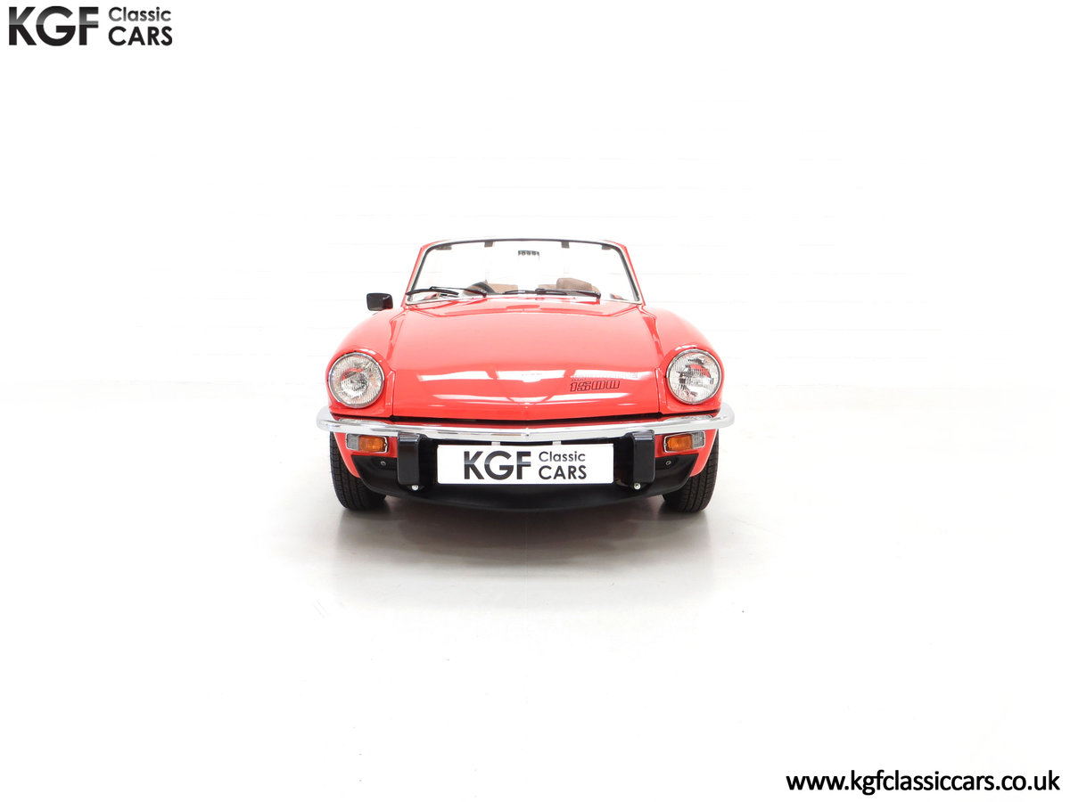 1979 An Astonishing Triumph Spitfire 1500 with 11,403 Miles SOLD (picture 3 of 24)
