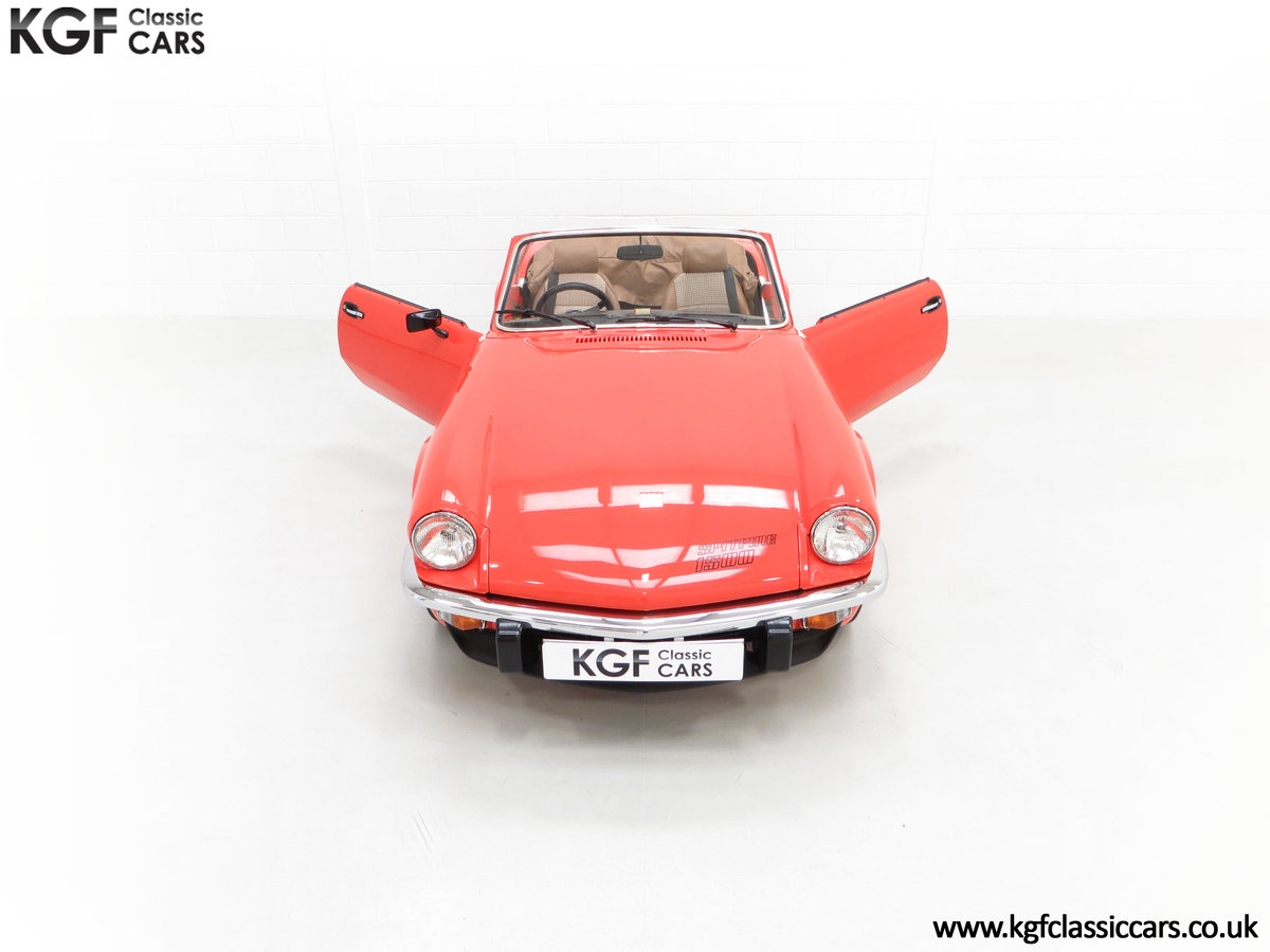 1979 An Astonishing Triumph Spitfire 1500 with 11,403 Miles SOLD (picture 4 of 24)