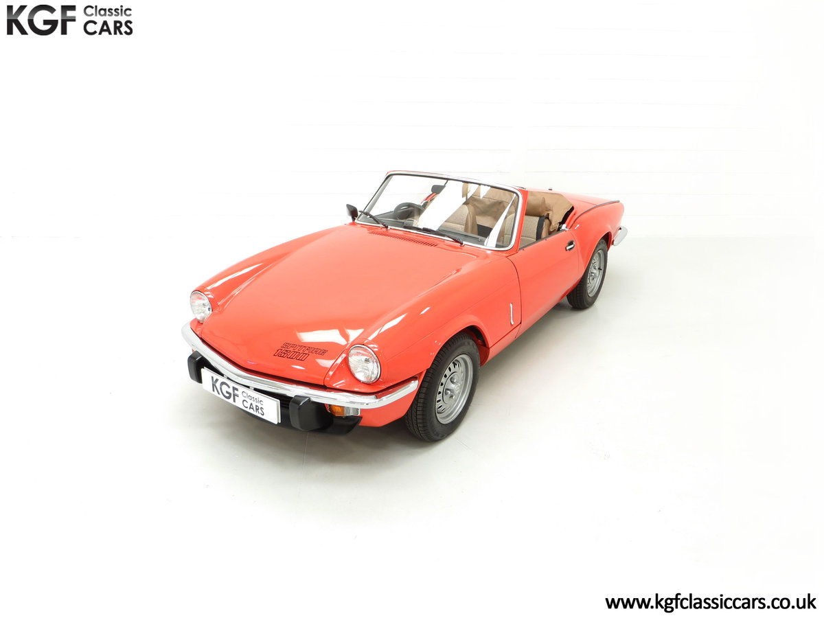 1979 An Astonishing Triumph Spitfire 1500 with 11,403 Miles SOLD (picture 5 of 24)
