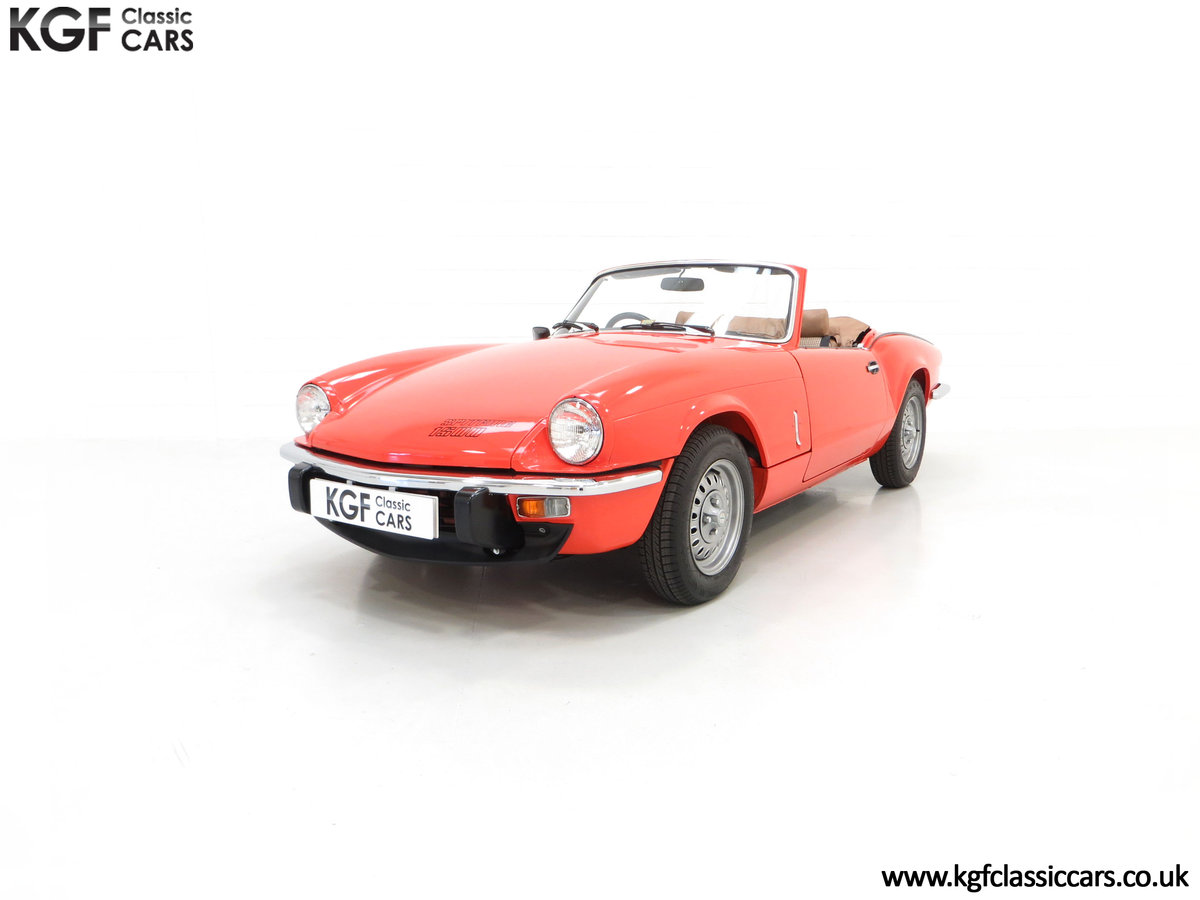 1979 An Astonishing Triumph Spitfire 1500 with 11,403 Miles SOLD (picture 6 of 24)