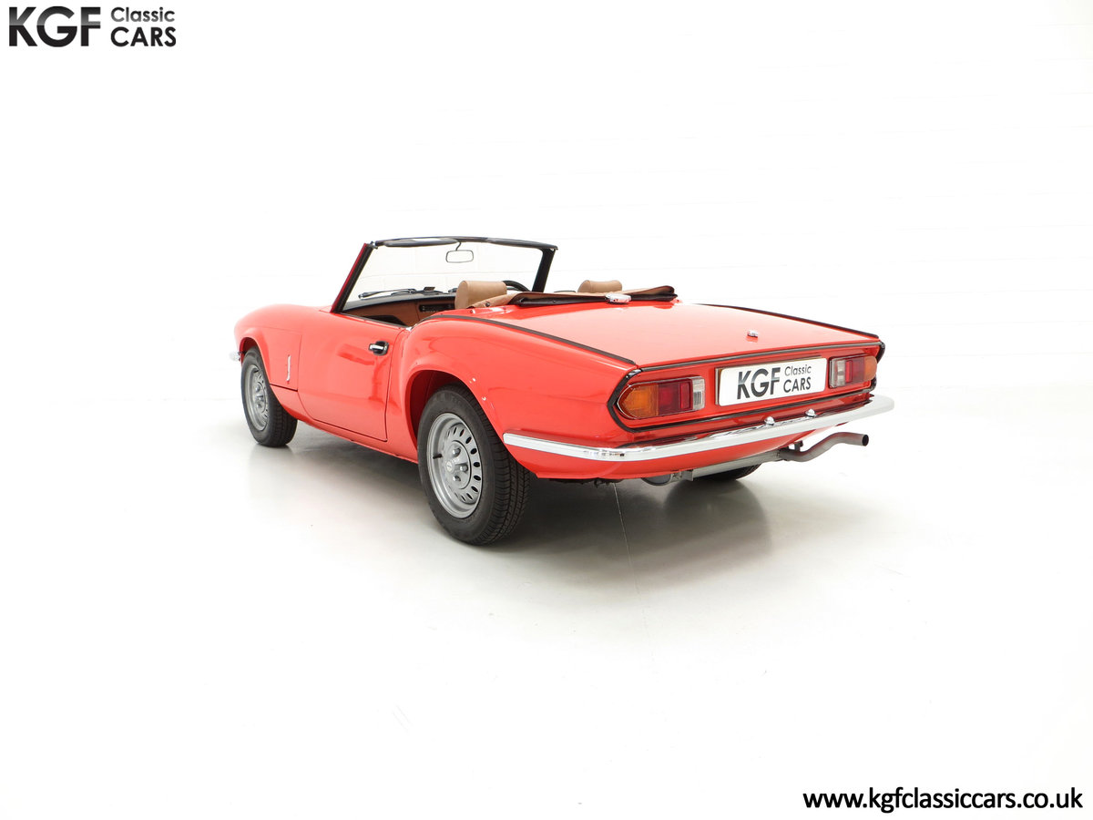 1979 An Astonishing Triumph Spitfire 1500 with 11,403 Miles SOLD (picture 8 of 24)