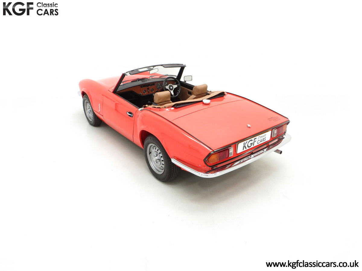 1979 An Astonishing Triumph Spitfire 1500 with 11,403 Miles SOLD (picture 9 of 24)