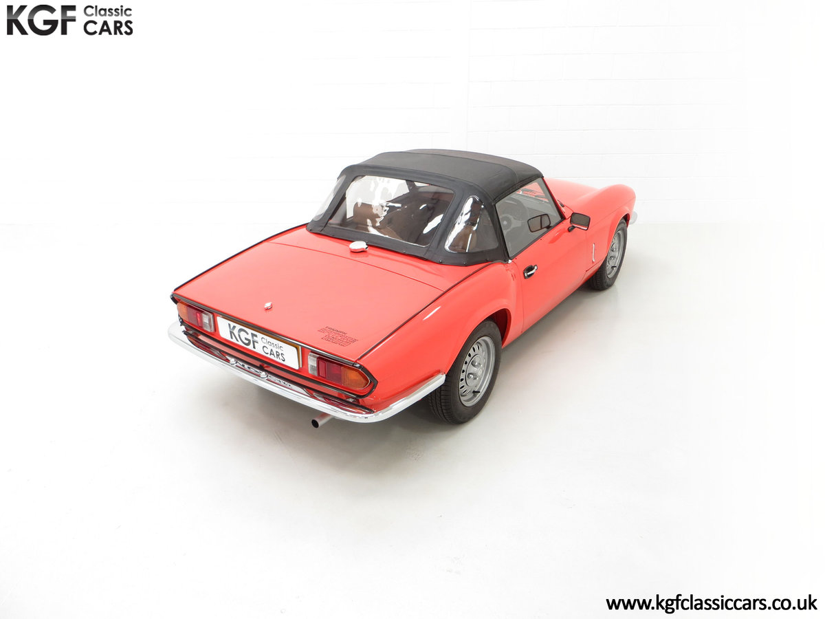 1979 An Astonishing Triumph Spitfire 1500 with 11,403 Miles SOLD (picture 12 of 24)