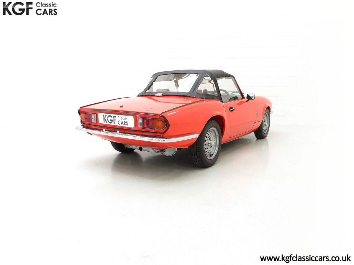 1979 An Astonishing Triumph Spitfire 1500 with 11,403 Miles SOLD (picture 13 of 24)