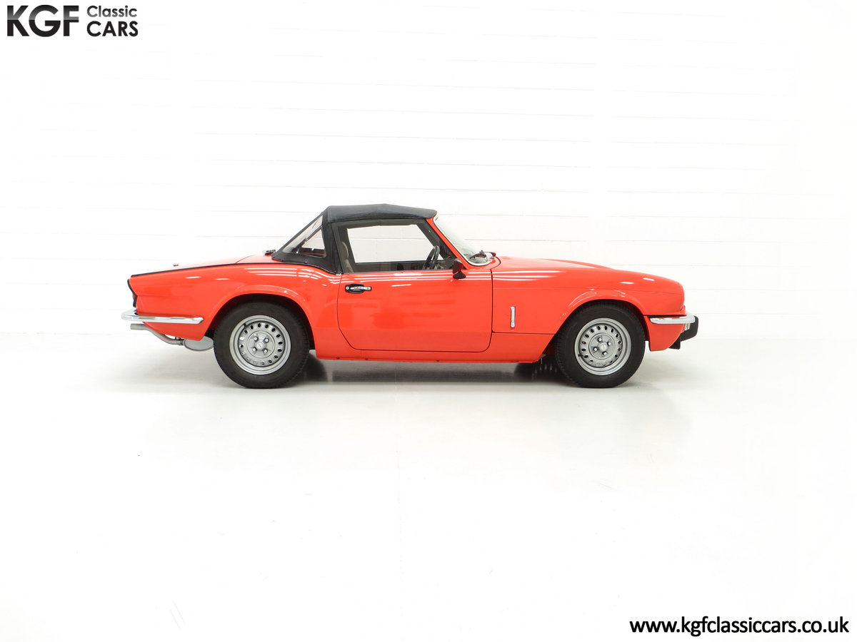 1979 An Astonishing Triumph Spitfire 1500 with 11,403 Miles SOLD (picture 14 of 24)