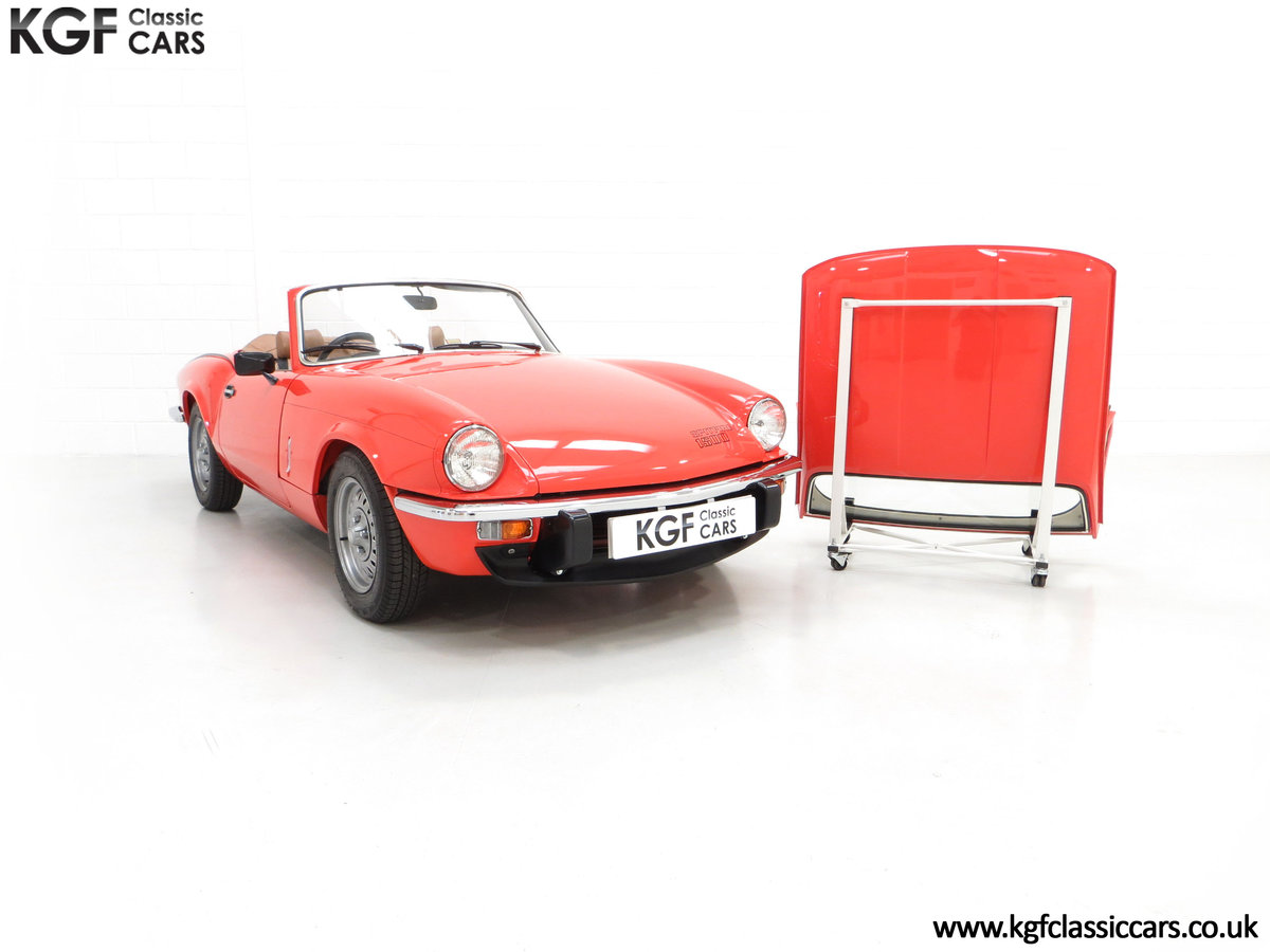 1979 An Astonishing Triumph Spitfire 1500 with 11,403 Miles SOLD (picture 20 of 24)