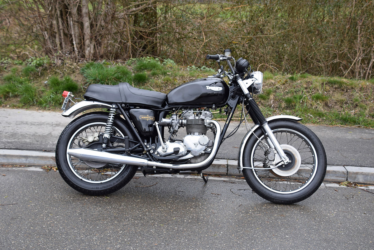 1981 Iconic british motorcycle in very good condition For Sale (picture 4 of 6)