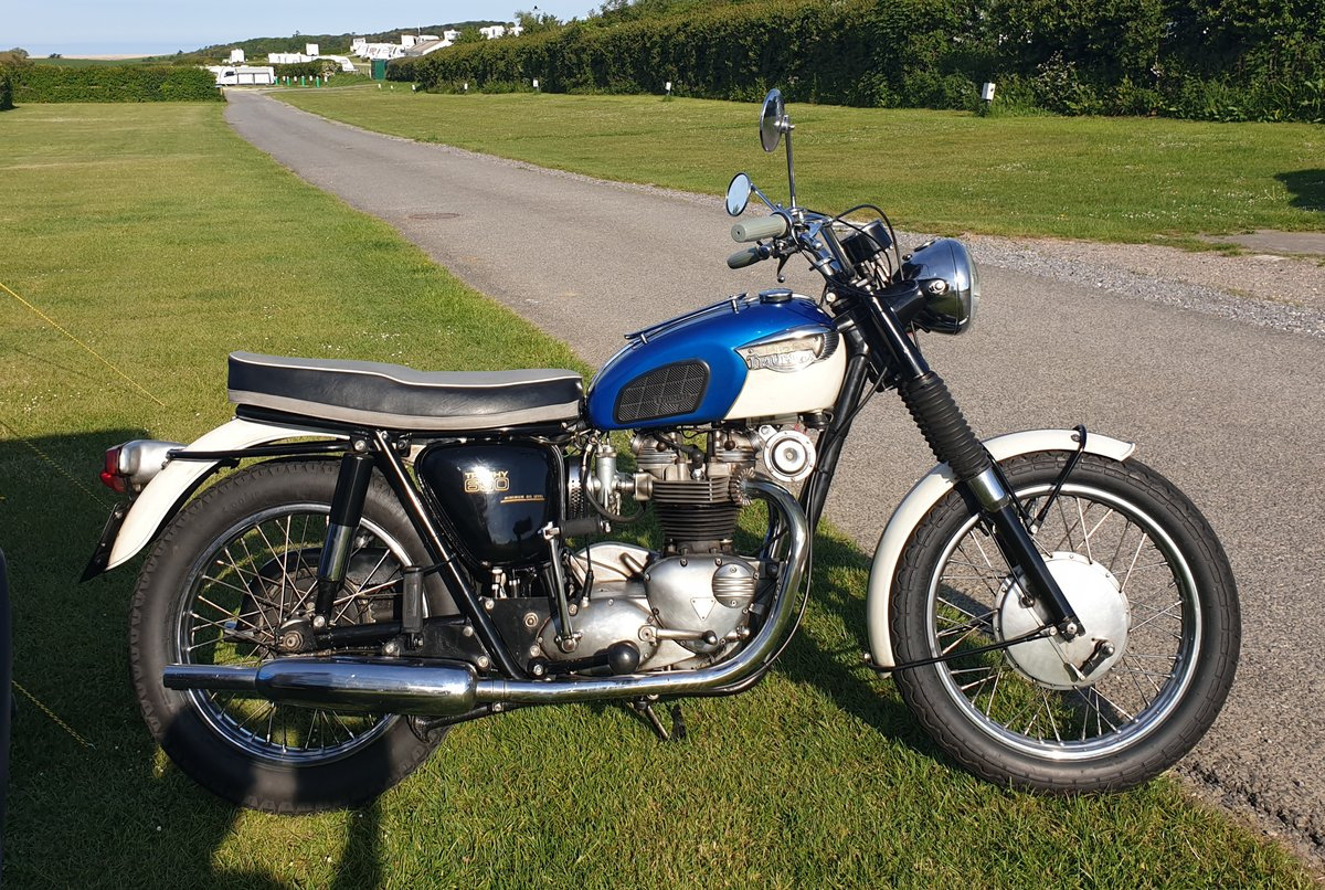 1966 Triumph Trophy American SOLD (picture 6 of 6)