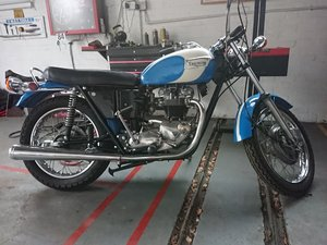 1971 TRIUMPH 650 Trophy TR6P. Matching numbers