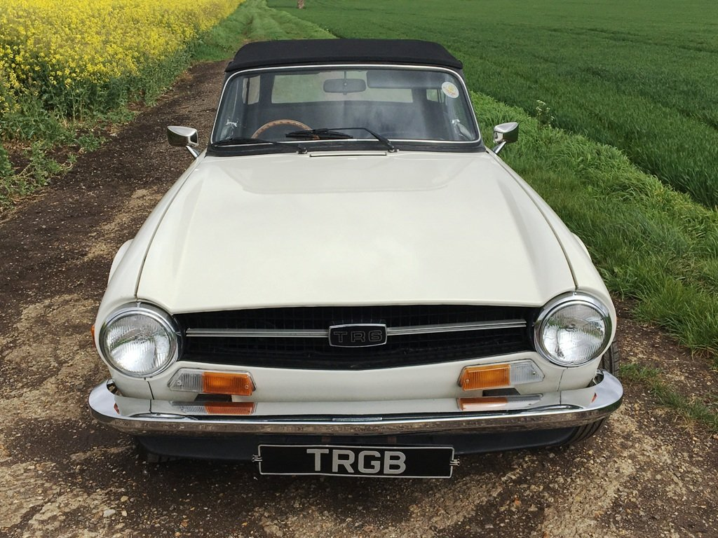 1972 TR6 1973 GENUINE UK 150BHP CAR WITH OVERDRIVE SOLD (picture 1 of 6)