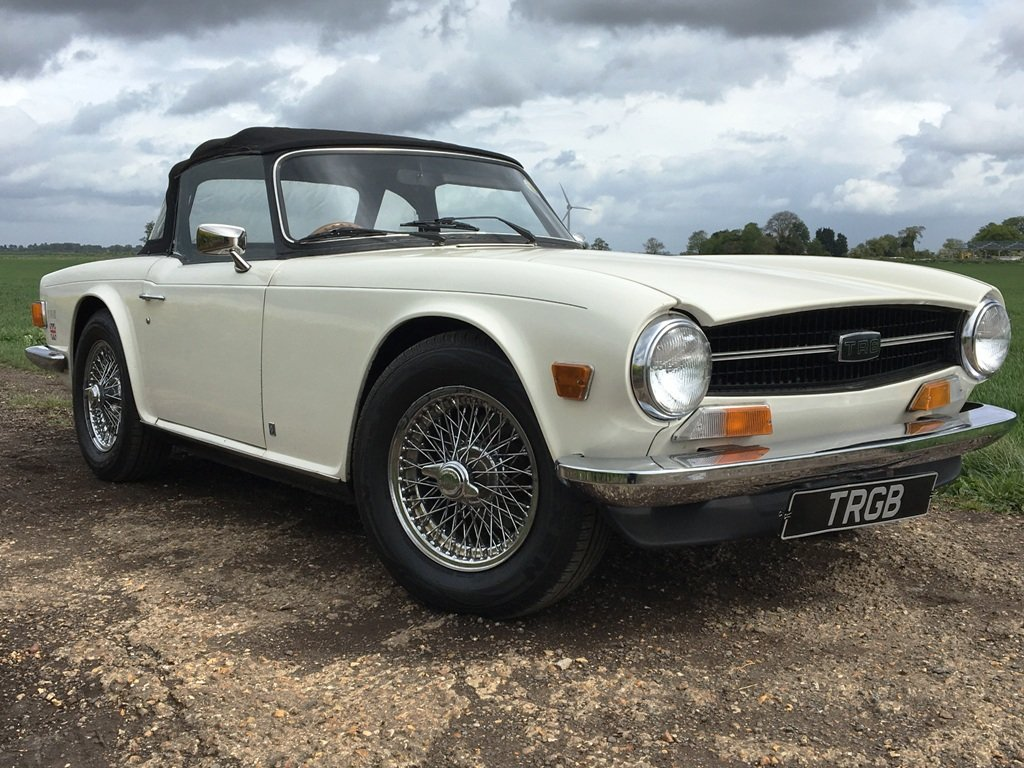 1972 TR6 1973 GENUINE UK 150BHP CAR WITH OVERDRIVE SOLD (picture 5 of 6)