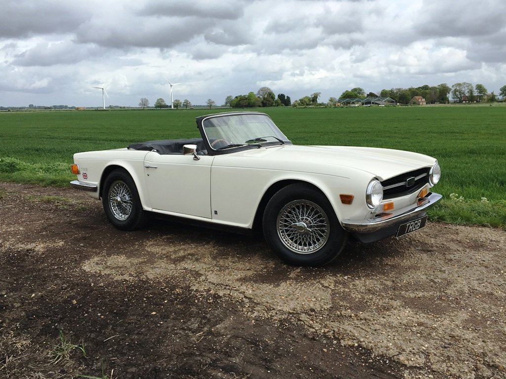 1972 TR6 1973 GENUINE UK 150BHP CAR WITH OVERDRIVE SOLD (picture 6 of 6)