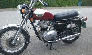 Triumph Bonneville. 750cc. Matching numbers