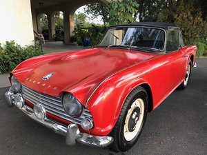 Triumph TR4 LHD good condition