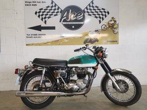 1977 Triumph tiger 750 tr7 twin