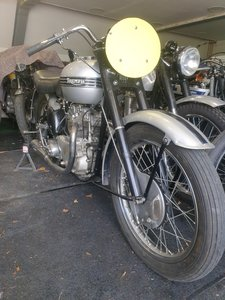 Picture of 1951 Triumph T100 Race Kit