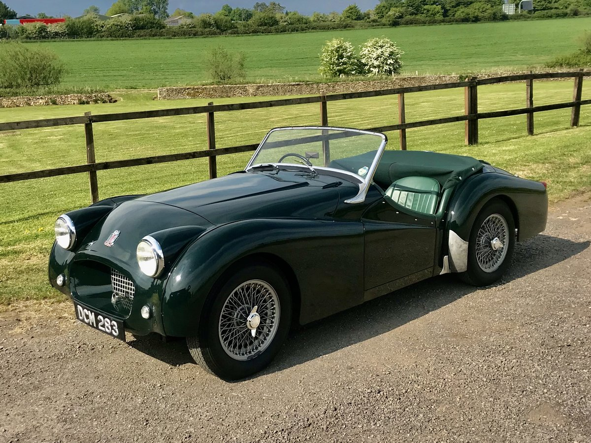 1954 TRIUMPH TR2 with Overdrive Original RHD For Sale (picture 1 of 6)