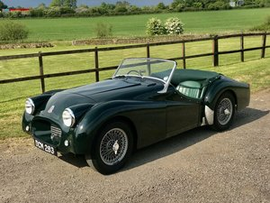 1954 TRIUMPH TR2 with Overdrive Original RHD
