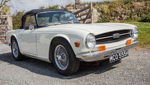 1970 TR6 CP Series Original UK car 5 owners in 50 years