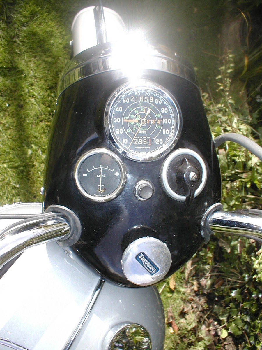 1953 Triumph t100 sprung hub matching numbers For Sale (picture 3 of 6)